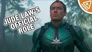 What Jude Law's Captain Marvel Character Reveal Means! (Nerdist News w/ Jessica Chobot)
