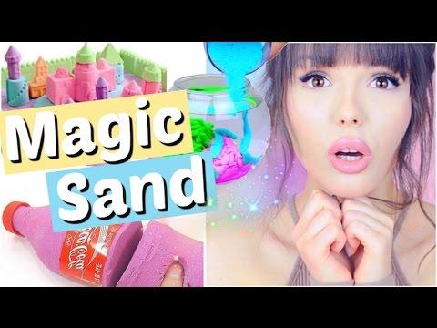 DAS kann man mit MAGIC SAND alles machen 😱 | ViktoriaSarina