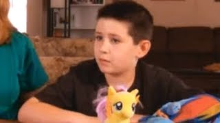 Bullying Victim Blamed - My Little Pony Backpack The REAL Problem