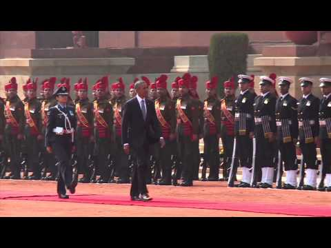 Ceremonial Reception of the President of the United States of America - 25-01-15