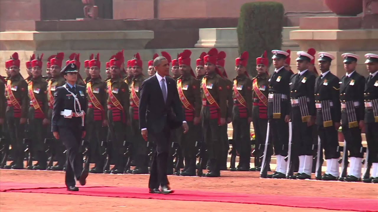 Download Ceremonial welcome of President Barack Obama of the United States of America