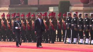 Ceremonial welcome of President Barack Obama of the United States of America