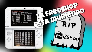 "La freeshop en 3ds dejo de funcionar definitivamente ""an exception ocurred"" posibles baneos 11.8"