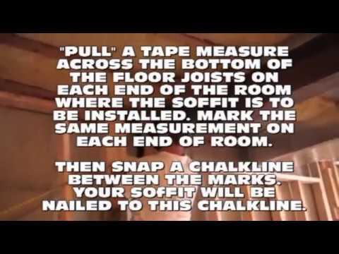 Basement ceiling Ideas Part 1  YouTube