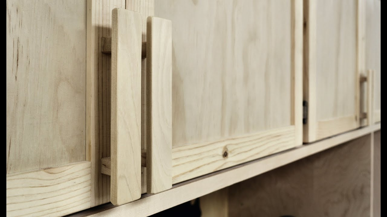 Superbe How To Make And Install Wooden Cabinet Handles