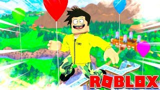 THE WORLD'S LARGEST BALLOON IN ROBLOX