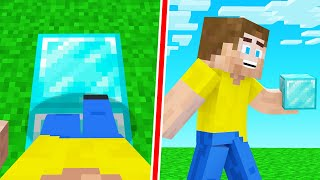 Minecraft, But You Get EVERY Block You STEP On..