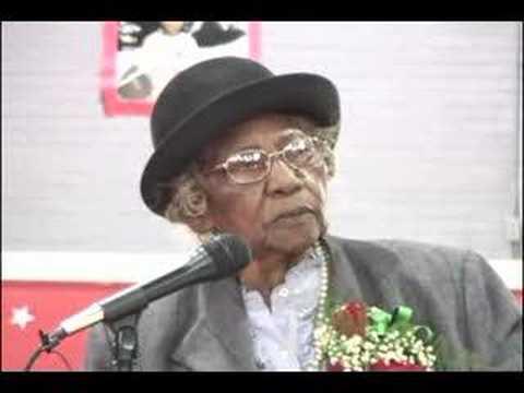 Mrs. Johnnie R. Carr Speaks