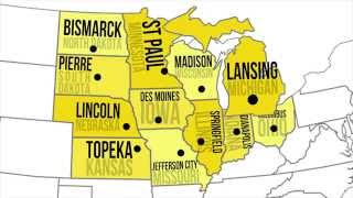 Midwestern Capitals & States