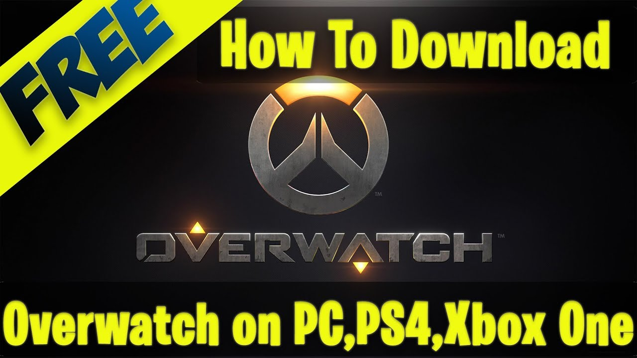 overwatch download ps4 free
