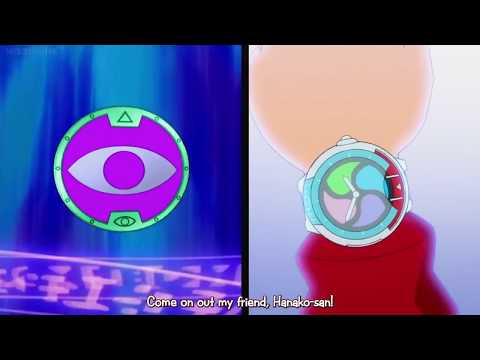 Yokai watch u Hanako-san summoning