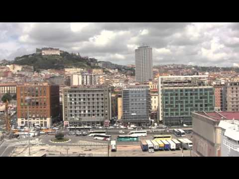 Views Around the Port of Napoli / Naples, from the MSC Splendida - Italy - 15th July, 2014