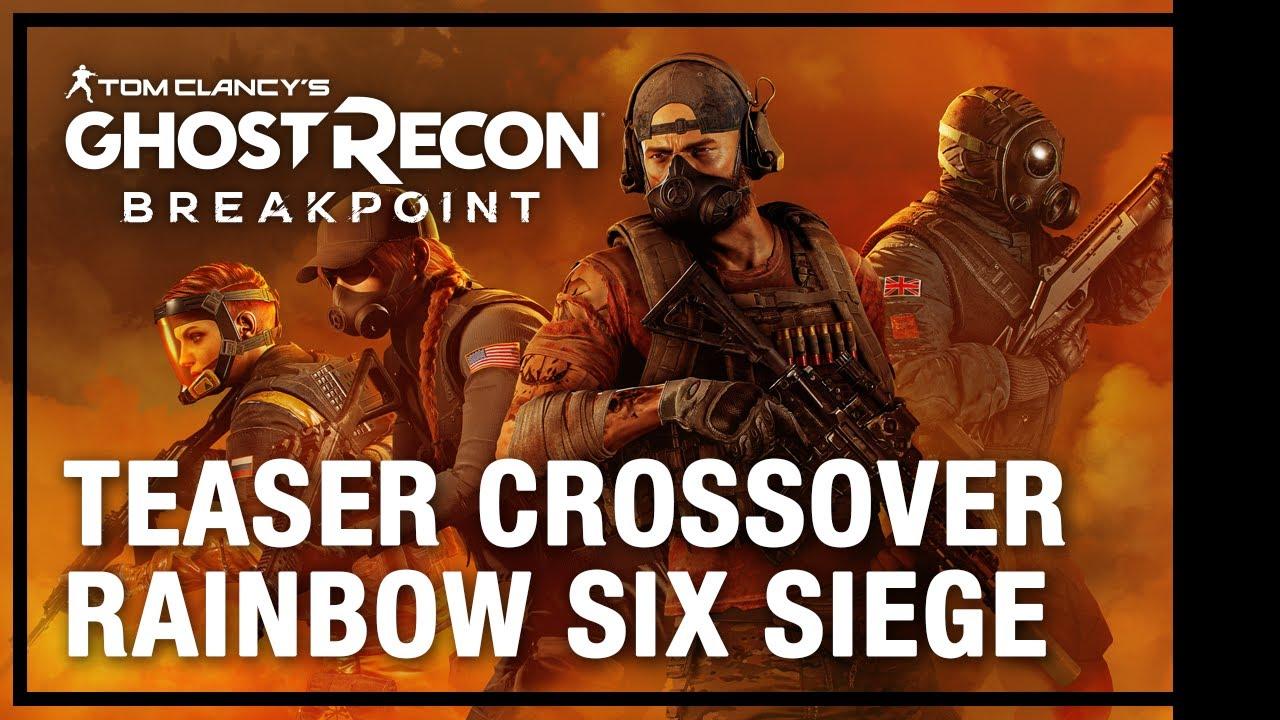 Tom Clancy's Ghost Recon Breakpoint X Rainbow Six Siege: Operation Amber Sky Tráiler | Ubisoft LATAM