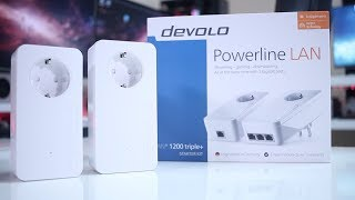 DEVOLO 1200 Triple + & 1000 Duo + COMPARISON
