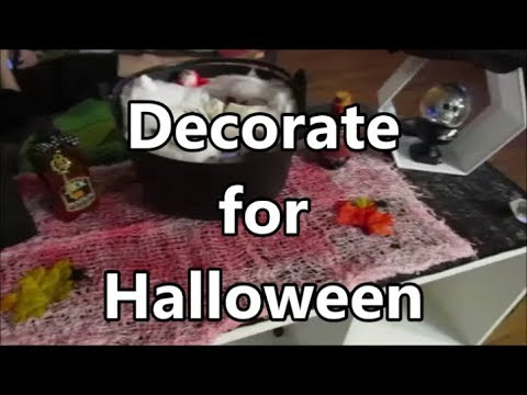 Decorate for Halloween 2019