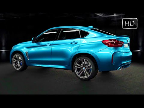 2015 BMW X6 M 3D Engine Animation (how the engine works) HD