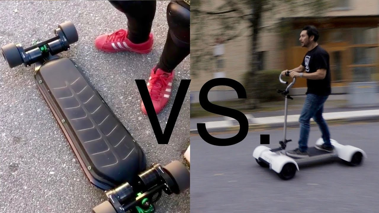 \u0026quot;The Best Electric Skateboard\u0026quot; Golfboard vs Bioboards Thorium X4 Pilot episode  YouTube