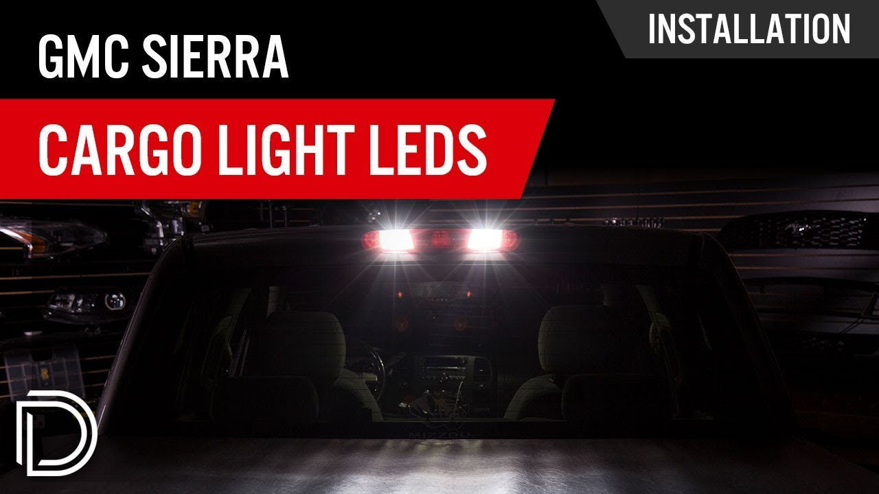 hight resolution of how to install gmc sierra cargo light leds
