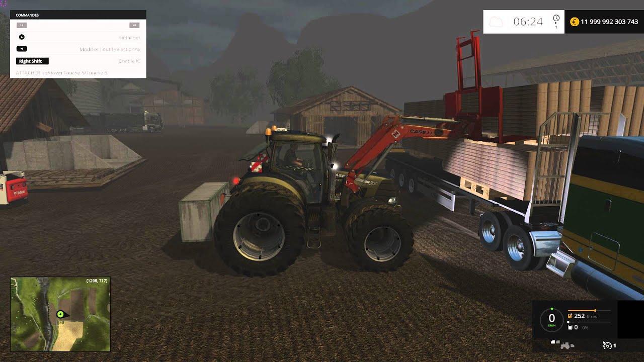 Farming Simulator 2015 vente de palettes de bois  YouTube