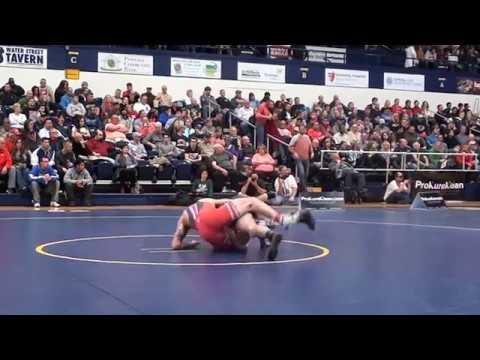 165 lbs Cody Burcher, OSU vs John Vaughn, CSU