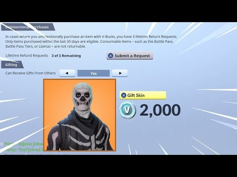 The New GIFTING System in Fortnite..