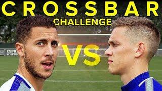 EDEN HAZARD Crossbar Challenge - WHO WINS? thumbnail