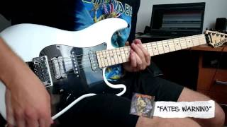 """Iron Maiden - """"Fates Warning"""" cover"""