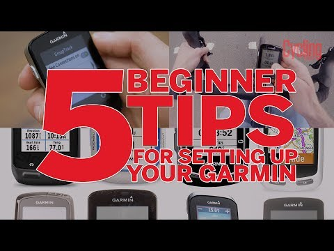 5 Beginner Tips for Setting Up Your Garmin   Cycling Weekly