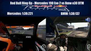 Assetto Corsa - Mercedes 190 Evo 2 Vs Bmw e30 DTM - Red Bull Ring GP