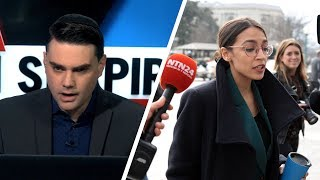 Ocasio-Cortez Embarrasses Self on Green New Deal