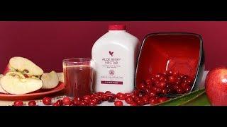 Aloe Vera con arándano y manzana, para combatir cistitis e infecciones urinarias.