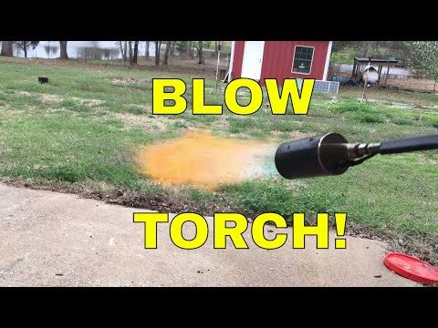 Harbor Freight Propane Torch Review