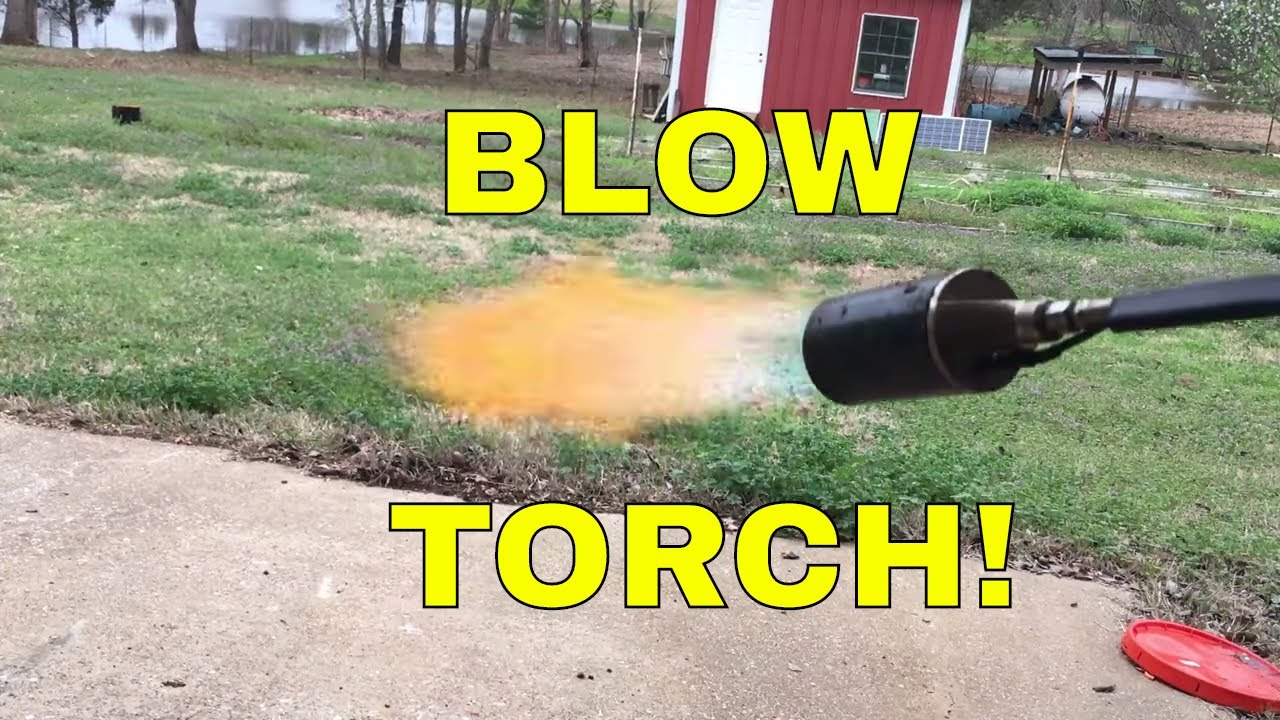 Harbor Freight Propane Torch Review Youtube