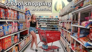 Back to School Shopping *as a senior*