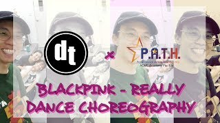 BLACKPINK - Really | DANCE CHOREOGRAPHY | Darren dt