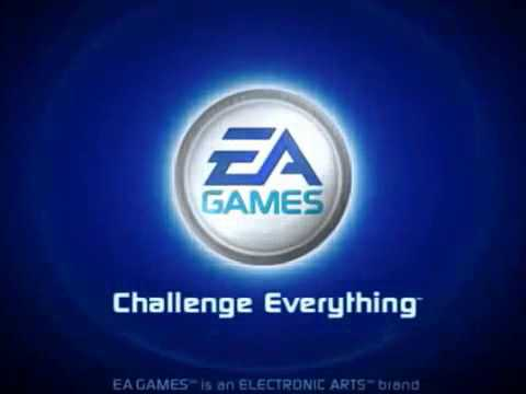 ea games logo 2002 2005 in slow motion youtube. Black Bedroom Furniture Sets. Home Design Ideas