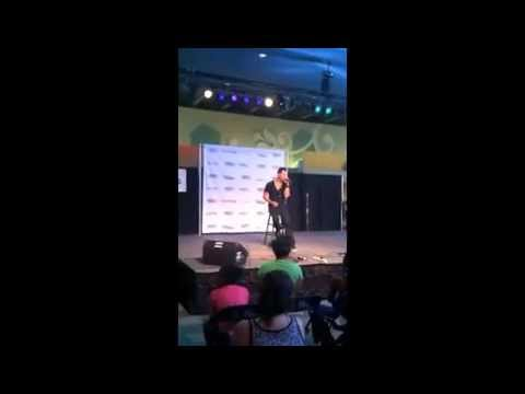 "GABE - LIVE - ""ANOTHER ROUND REMIX"" AT DISCOVER MILLS MALL IN ATL @gabesingin"