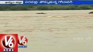 Godavari water level increases in Khammam district