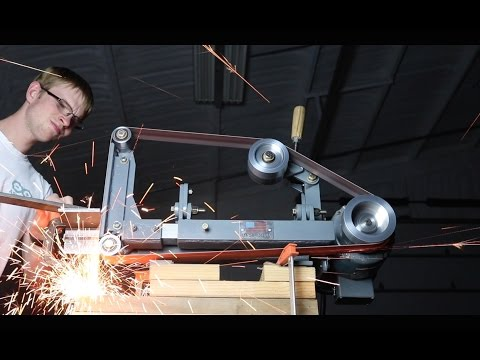 Building my 2x72' Belt Grinder