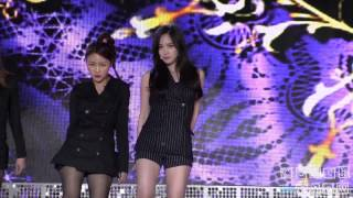 141003 Spica Narae - Give Your Love - @ Music Bank Osong