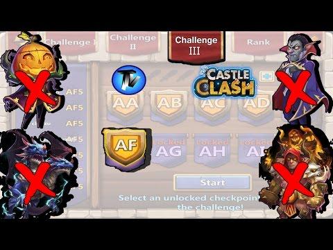Castle Clash - HBM AF Without PD!!!! [F2P Heroes]