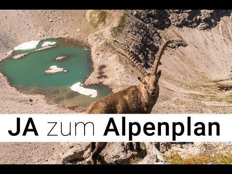 Ja zum Erhalt des Alpenplans
