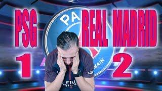 PSG 1-2 Real Madrid - Azéd Stories