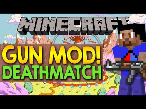 how to get the gun mod in minecraft xbox one
