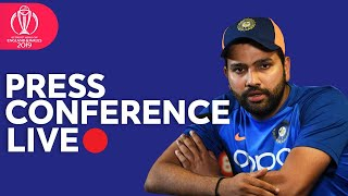 Post Match Press Conference India vs Sri Lanka   ICC Cricket World Cup 2019