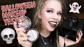 Testing 8 Spooky Makeup Products