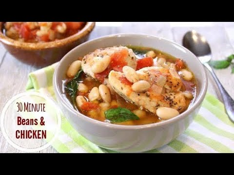 Chicken And Bean Stew In 30 Minutes