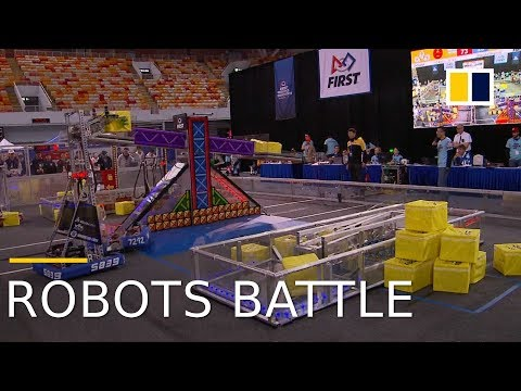 2018 FIRST Robot Competition debuts in Shanghai