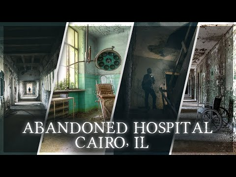 Abandoned Southern Medical Center - Cairo, IL. Cinematic URBEX Exploration. Found remains.