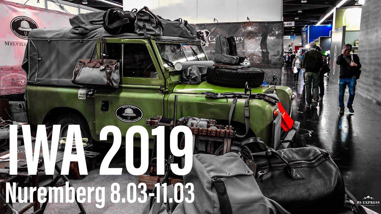 ВЫСТАВКА в Германии «IWA» ОХОТА, ОРУЖИЕ, АКТИВНЫЙ ОТДЫХ. IWA Show 2019 Part1